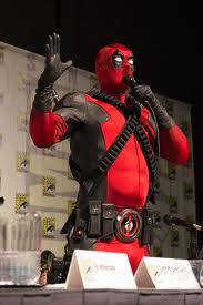 Deadpool crashes the SDCC 2012 Marvel Videogames panel to promote his own game. Typical.