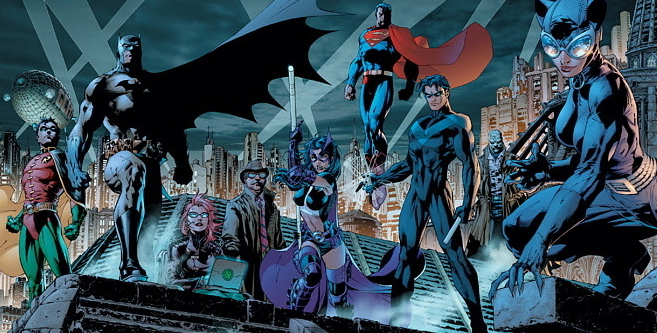 Batman: Hush brings in the whole cavalry.