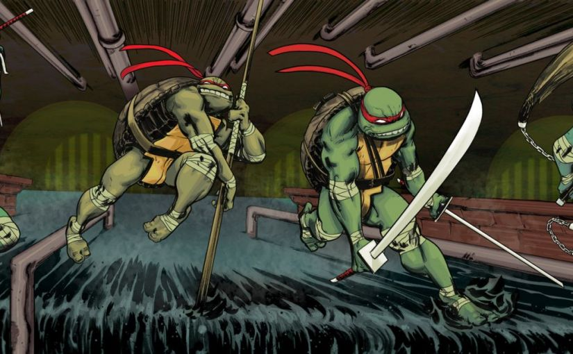 Graphic Novel Review – Teenage Mutant Ninja Turtles Volume 1: Change is Constant