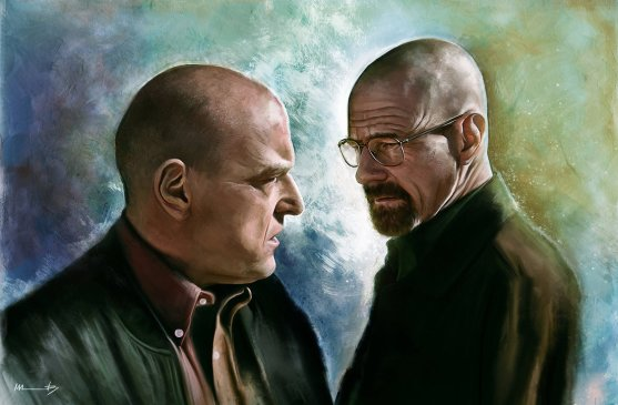 Image courtesy of http://imorawetz.deviantart.com/ She has great Breaking Bad stuff!