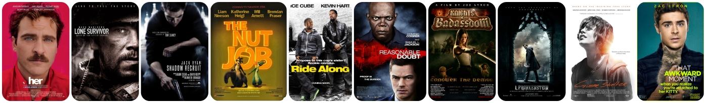 January Movies 2014