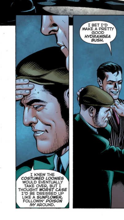 This goon had a flowery outlook in Justice League 25
