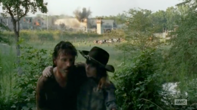 rick and carl dont look back