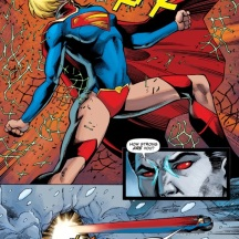 Robert's nomination for Epic Panel of week from Supergirl #26.