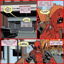 Sherif's nomination for funniest panel of the week from Deadpool #21.