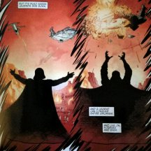 Taylor's nomination for Epic Panel of week from Darth Vader and the Cry of Shadows #1.