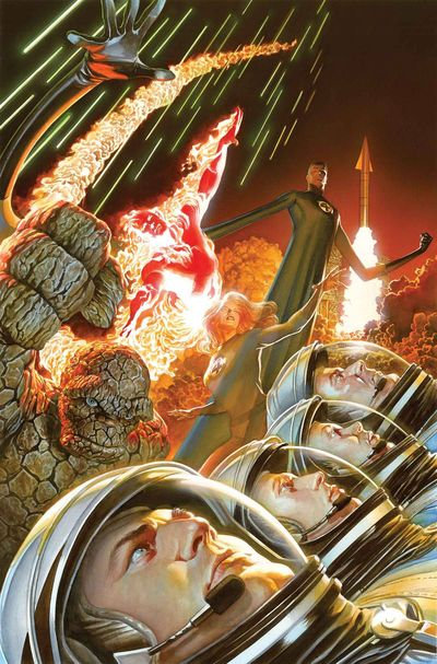 Fantastic Four #1 Alex Ross variant
