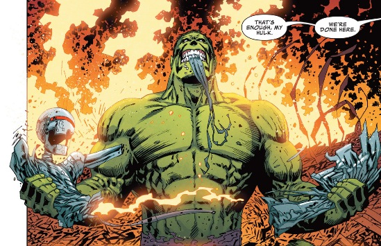 Hulk loses it in Marvel Knights: Hulk #3