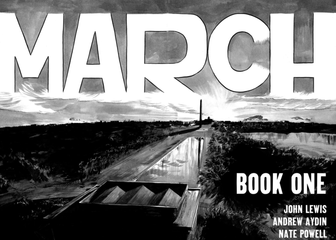 march book one title