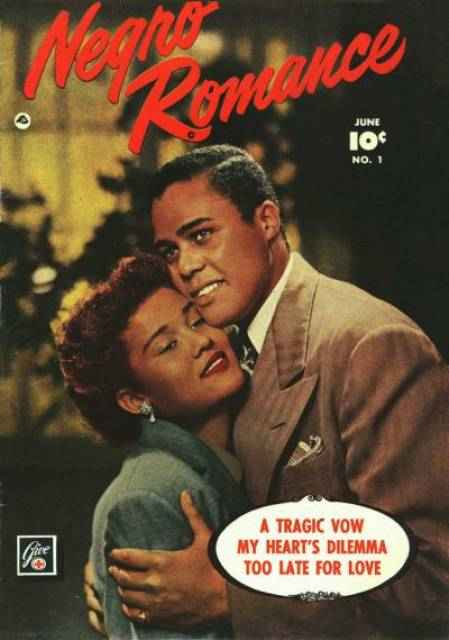 Negro Romance #1 - June 1950, published by Fawcett Comics