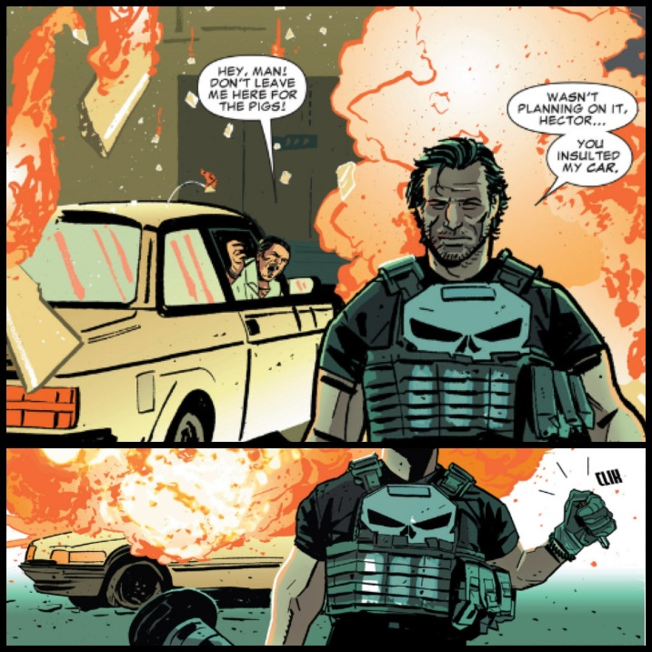 Frank Castle is one BAMF in The Punisher #1