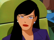 Lois Lane in Superman: The Animated Series. 1996.