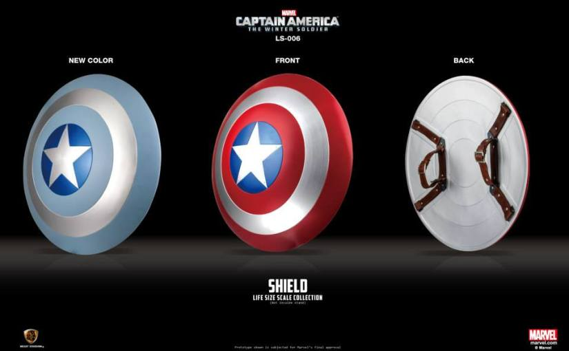 Shut Up and Take My Money: Captain America Shield Replica
