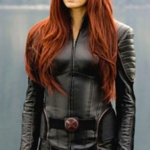 Famke Janssen as Jean Grey in X-Men the Movie in 2000.