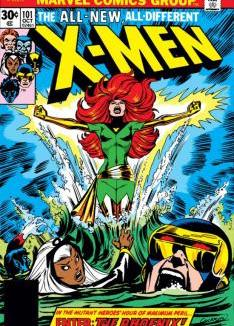 Jean Grey becomes The Phoenix in 1976.