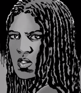 Michonne Head Shot