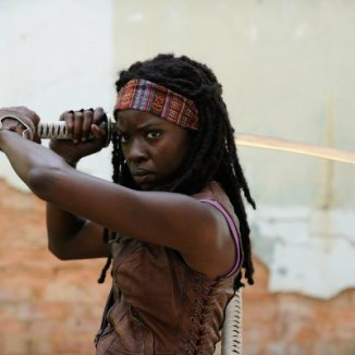 Danai Gurira as Michonne