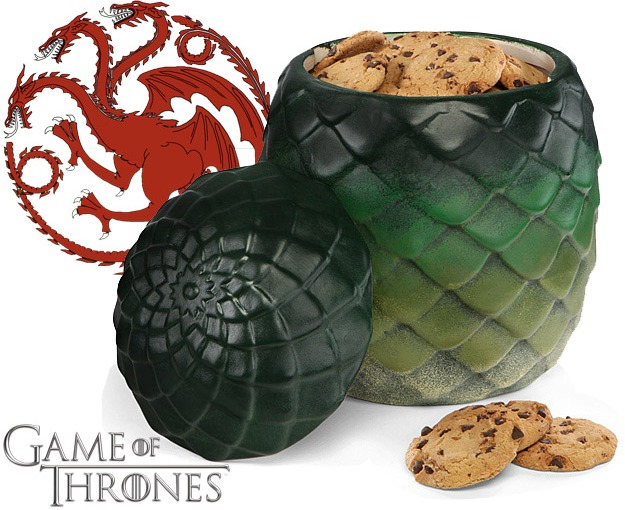 Shut Up and Take My Money: Game of Thrones Dragon Egg Canister
