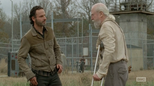You can take Rick out of the gunfire, but you can't... well I guess you can't take Rick out of the gunfire.