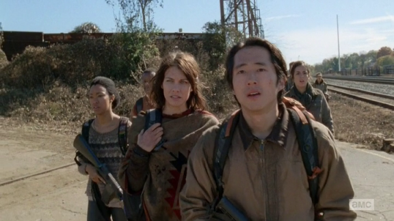 TWD Us Glenn and crew