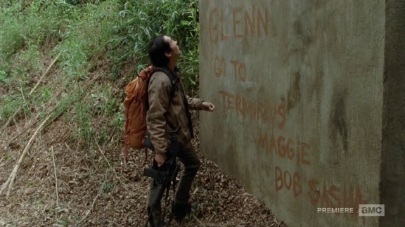 TWD Us glenn sign