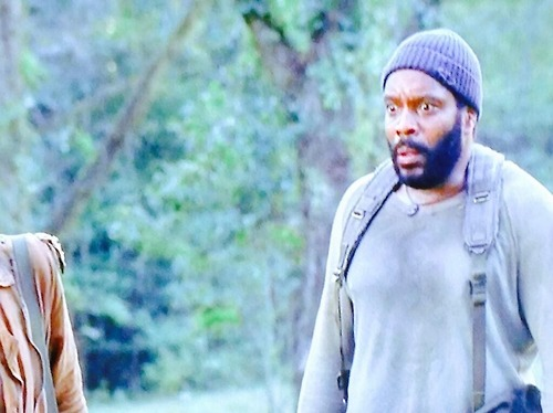 Tyreese face...