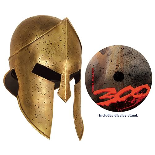 Shut Up and Take My Money: 300 Helmet Licensed Replica