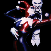 Harley and her puddin' by Alex Ross