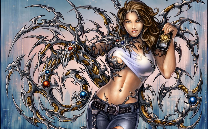 We Can Do It! Witchblade