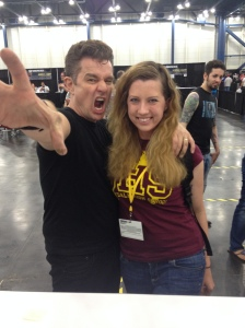 James Marsters and Adrian at Comicpalooza 2014