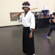 Afro Samurai at ComicPalooza 2014