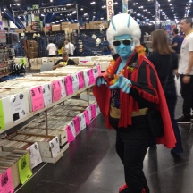 Alien/Demon Elvis? at ComicPalooza 2014