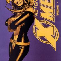 "Kitty on the cover of ""Astonishing X-Men"" #26"
