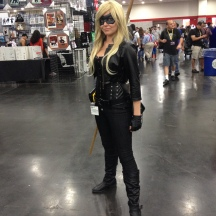Black Canary from Arrow at ComicPalooza 2014
