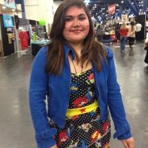Comic Book Girl at ComicPalooza 2014