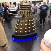 Dalek at ComicPalooza 2014