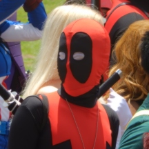 No party is complete without a Deadpool at ComicPalooza 2014