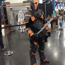 Deathstroke at ComicPalooza 2014