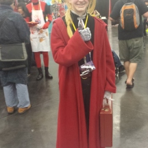 Edward Elric from Full Metal Alchemist at ComicPalooza 2014