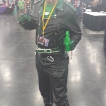 Green Lantern at ComicPalooza 2014