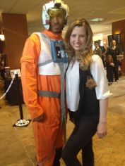 John the X-Wing Pilot and Adrian as Han Solo