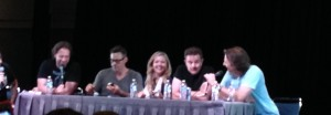 The Buffy cast at Comicpalooza 2014