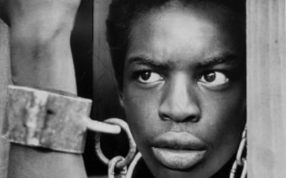 LeVar Burton in Roots as Kunta Kinte.