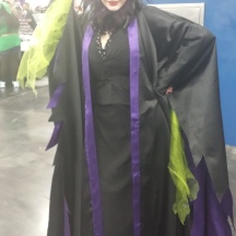 Maleficent at ComicPalooza 2014