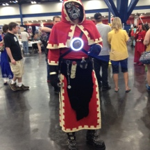 Medieval Iron Man at ComicPalooza 2014