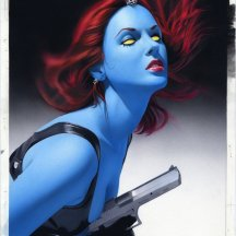 Mystique by Mike Mayhew
