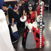 Princess Harley Quinn at ComicPalooza 2014