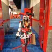 Renaissance Harley Quinn at ComicPalooza 2014
