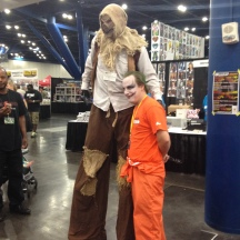 Scarecrow and Joker at ComicPalooza 2014