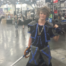 Sora from Kingdom Hearts at ComicPalooza 2014